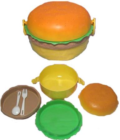 June 2010 Everything Burger - Hamburger-scatter-cushions