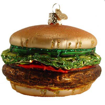 - Cheeseburger Christmas Ornament Everything Burger
