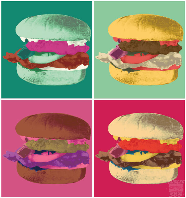Burger 270 andy warhol style everything burger for Andy s chinese cuisine