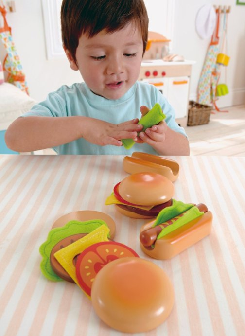 Toy Hamburgers andHotdogs
