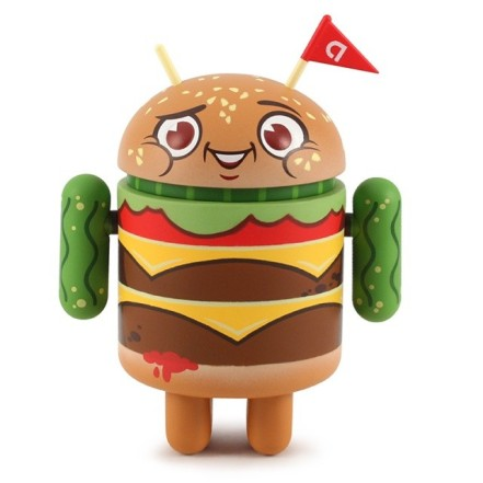 Andrioid Toy Hamburger