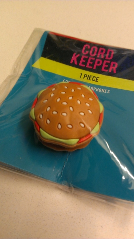 Hamburger Cord Keeper