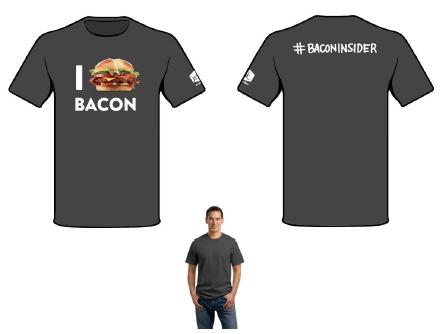 I Heart Bacon Bacon Insider Shirt